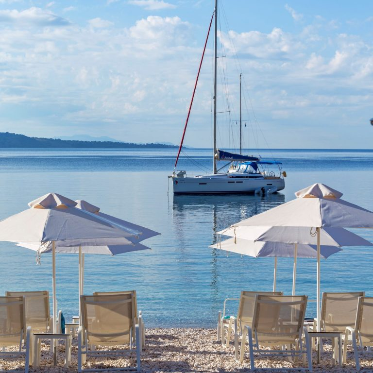 Spring into the Ionian waters