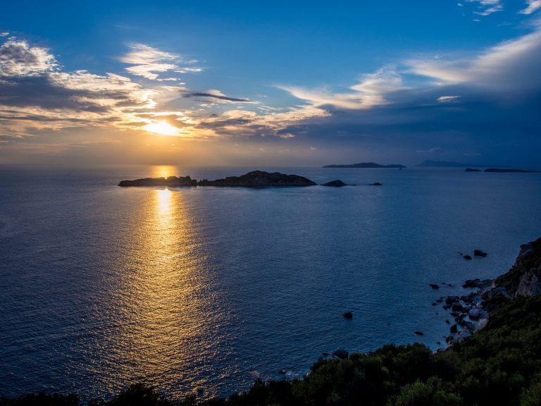 Agios Stefanos NW corfu beach view