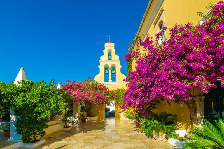 Palekastritsa North Corfu Monastery